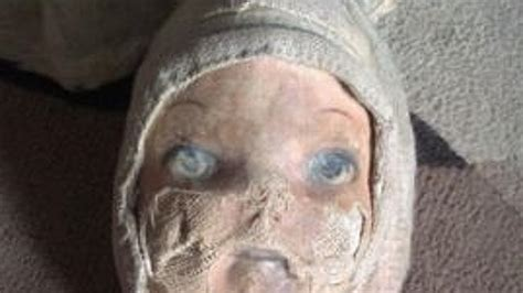 haunted doll sold on ebay it scratched my haunted doll goes the hammer