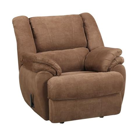 Brown Suede Recliner by Dorel Home Furnishings Rocker Recliner Brown Suede Home