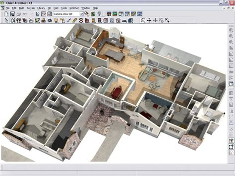 3d software program to help design and style your home
