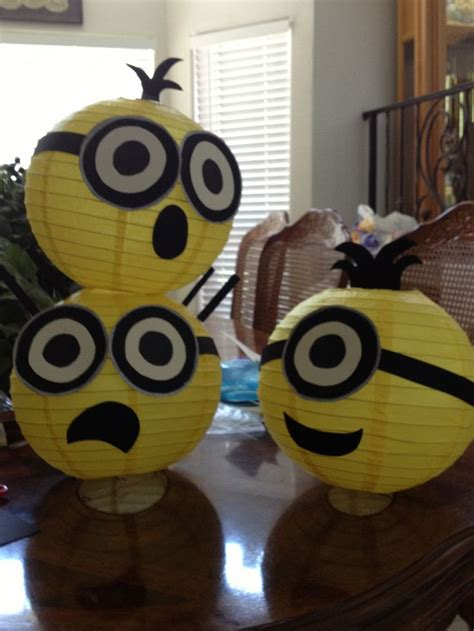 diy projects for decorating with minions