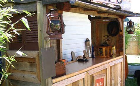 backyard tiki bar 15 awesome diy outside bar ideas