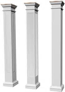 Decorative Trellis Panels Architectural Structural Columns Square Tuscan Columns