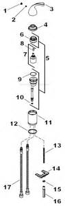 Kohler Kitchen Faucet Parts Diagram Kohler K 10430 Parts List And Diagram Ereplacementparts