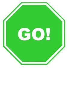 Go Sign Clipart Go Sign Clip Art