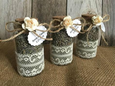 ideas for bridal shower favors 3 wedding favors glass bottle lavender bottles bridal