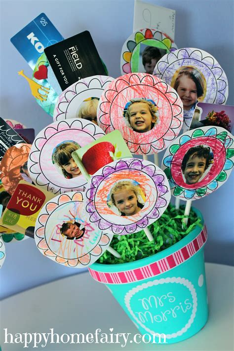 Gift Card Bouquet for the Teacher   Happy Home Fairy