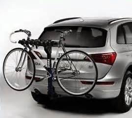 new audi q5 q7 hitch mounted bike carrier zaw 071 105 ebay