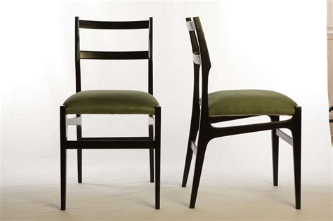 Hotel Dining Chairs Set Of 6 Gio Ponti Dining Chairs From The Hotel Parco Principi Roma At 1stdibs