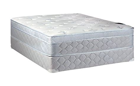full bed box spring spinal solution full size 8 quot fully assembled box spring