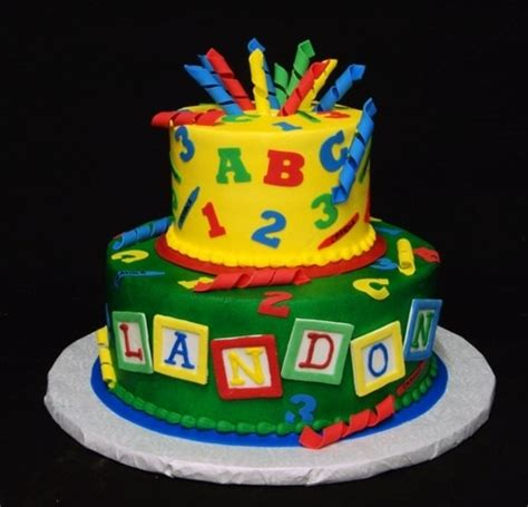 cricut cake abc  cake decorating birthday abc birthday parties  cake