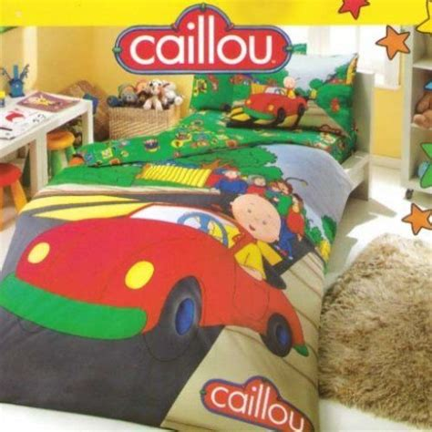 caillou bedding comforter cover shops and cars on pinterest