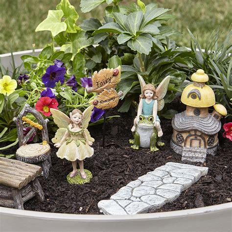 fairy garden fairy crossing kit