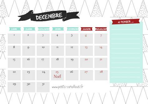 Calendrier Decembre 2014 Calendriers Mensuels D 233 Cembre 2014 224 Imprimer Gratuit