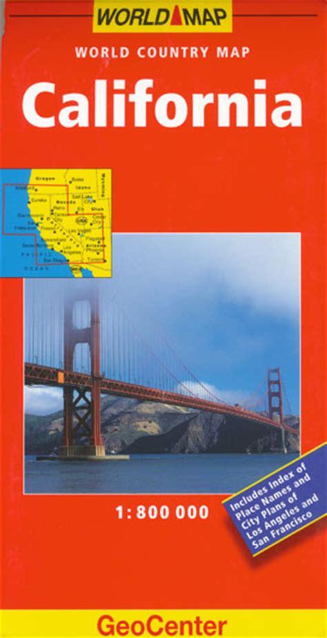 california map book california map geocenter maps books travel guides
