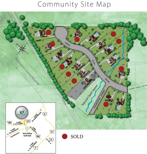 usshers creek new home community development in guelph
