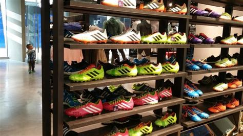 football shoes store football shoes picture of adidas sanlitun shop beijing