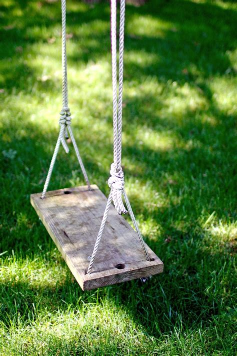swing for tree branch tree swing for the home pinterest