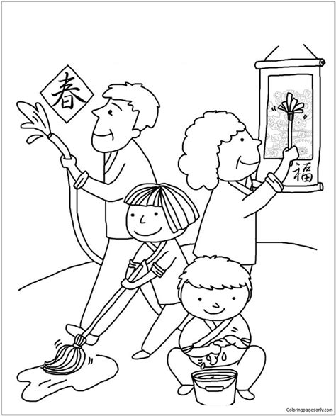 chinese house coloring page chinese house coloring coloring pages