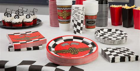 Race Car Birthday Decorations by Race Car Supplies Decorations Indy 500