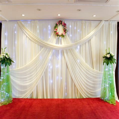wedding curtains wedding curtain backdrops best home design 2018