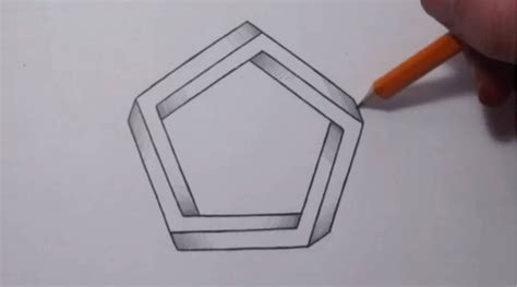 Cool 3d Shapes To Draw how to draw 3d shapes step by step pencil drawing