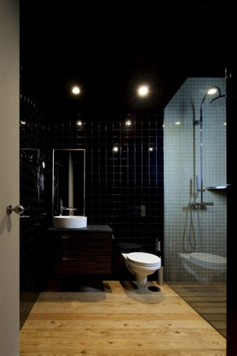 black toilet bathroom design how to achieve great lighting in dark colored interiors