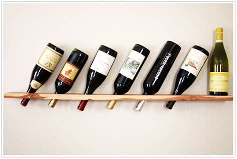 Green Kitchen Cabinet Ideas transformed wood plank wine rack camille styles