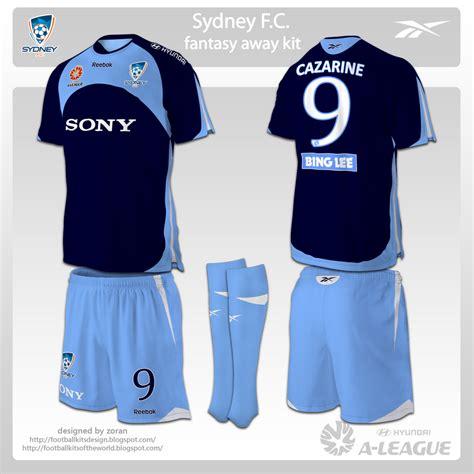 Kaos Tottenham Hotspur Logo football kits design sydney fc kits