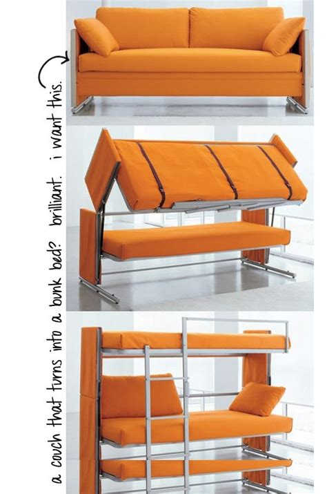 Futon That Turns Into A Bunk Bed That Turns Into A Bunk Bed And I Thought Futons Were Cool Would Be Fantastic For A