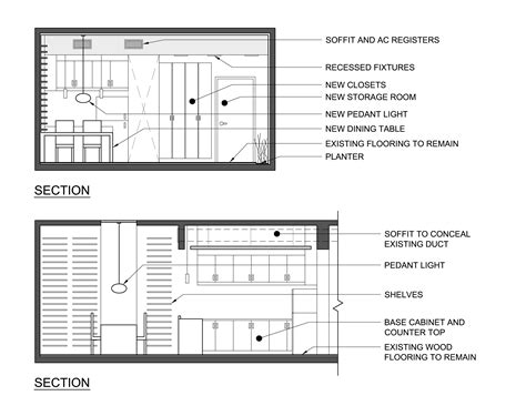 plan section elevation woodworking plans dining table plan elevation section pdf