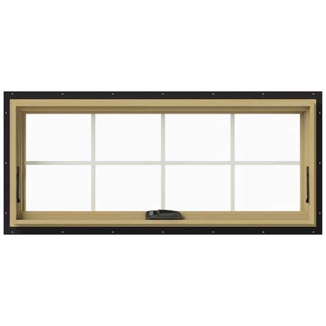 jeld wen awning windows jeld wen 48 in x 20 in w 2500 awning aluminum clad wood