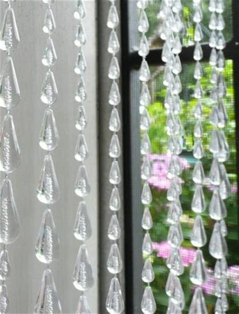 8 foot long curtains clear raindrop beaded curtain 8 feet long that