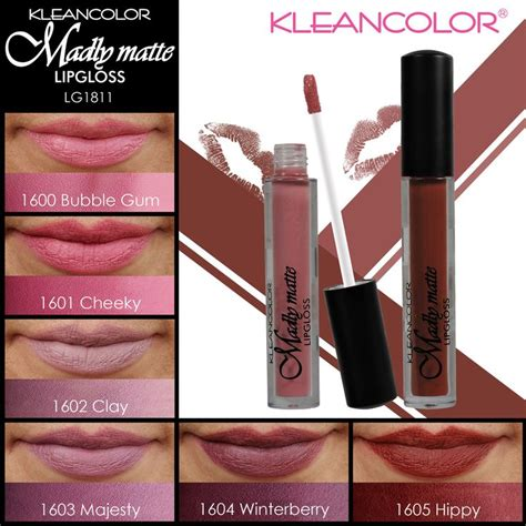 Kleancolor Pro Artistry Madly Matte Palette 1000 images about kc swatch book on smoky eye