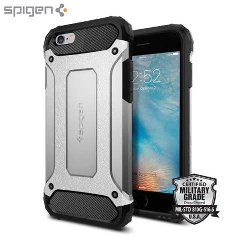 spigen tough armor tech iphone 6s 6 satin silver