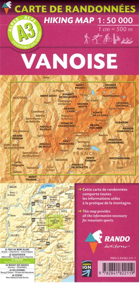 mont blanc 1 50 000 contoured hiking map gps compatible laminated kompass books a1 rando editions pays du mont blanc hiking map 1 50 000