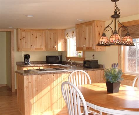 sunny kitchen and bedroom minutes from popham beach cozy maine coast cottage