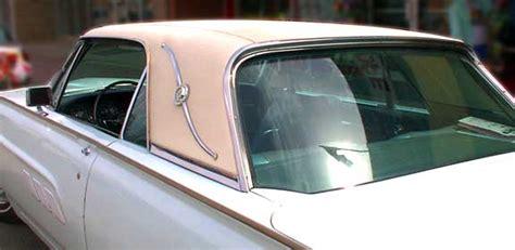 thunderbird roof line 1963 ford thunderbird