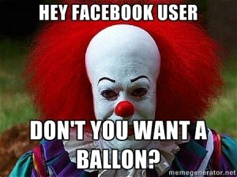 Pennywise The Clown Meme - pennywise the clown quotes quotesgram