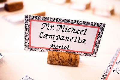 how to make wine cork place card holders simply made with wine cork place card holders
