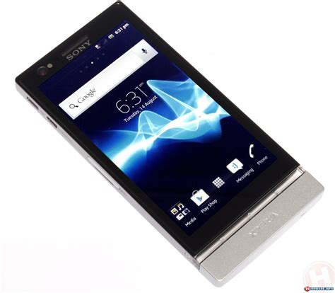 Hp Sony Xperia Plt22i sony xperia p review brighter than the sun hardware