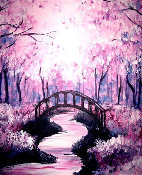 25 best ideas about purple painting on nature paintings abstract and