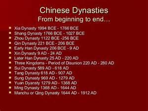 dynasties 600 1450