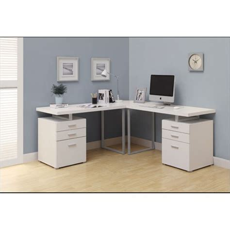 monarch white hollow corner desk 17 best images about our home on wall