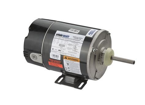 Grower Select 174 1 3 Hp Variable Speed Fan Motor Hog Slat
