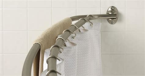 double shower curtain rod double shower curtain rod bronze curtain menzilperde net