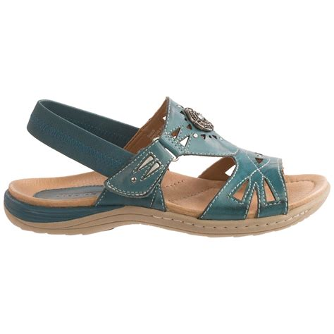earth sandals earth guava leather sandals for save 77