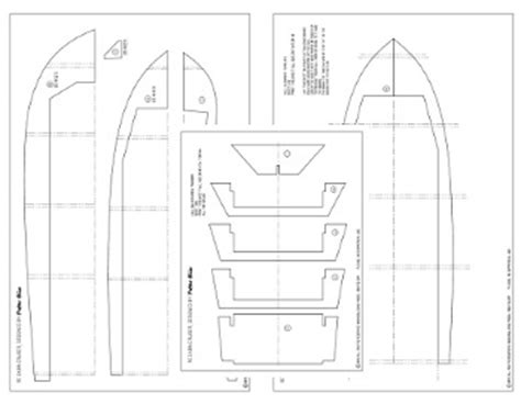 rc boat hull drawing rc boat plans download them here