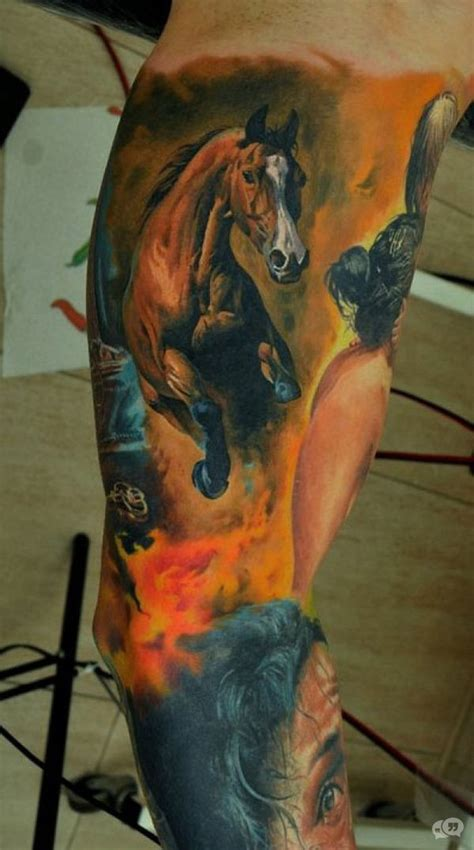 tattoo of us best bits 12 horse tattoos that let everyone know where your passion