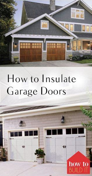 Best Way To Insulate Garage Door 1086584 Best Do It Yourself Today Images On Recipes Kitchen And Writers