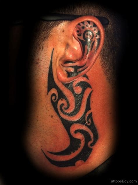 tribal ear tattoos maori tribal tattoos designs pictures